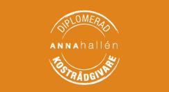 Anna Hallén Kostrådgivare